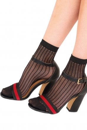 5c60bf462 Pretty Polly Hello Kitty Ballet Stripe Slipper Sock
