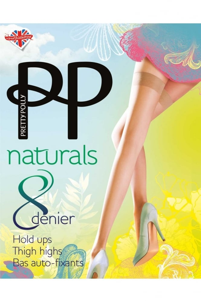 Pretty Polly Naturals 8 Denier Hold Ups