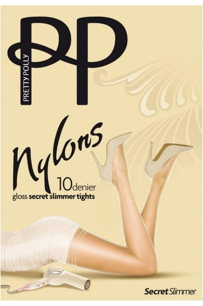 Pretty Polly Nylons 10 Denier Gloss Secret Slimmer Tights