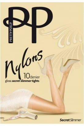 Nylons 10 Denier Gloss Secret Slimmer Tights