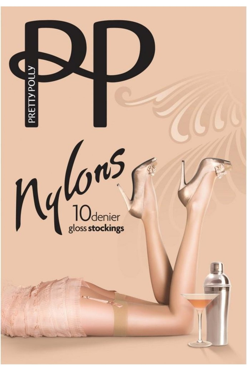 ea006c454 Nylons 10 Denier Gloss Stockings. Pretty Polly Nylons 10 Denier Gloss  Stockings