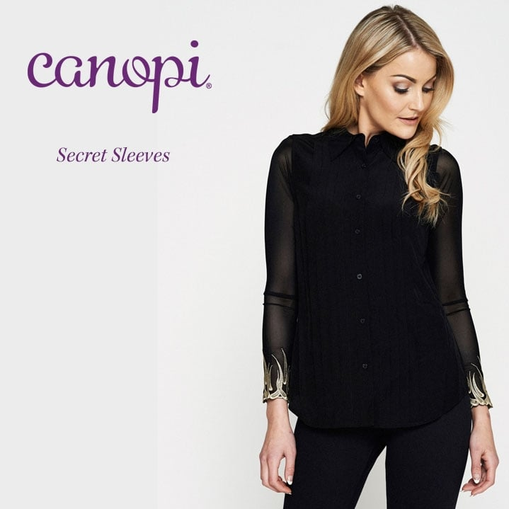Win these fantastic Canopi 'Helene' Black and White Secret Sleeves
