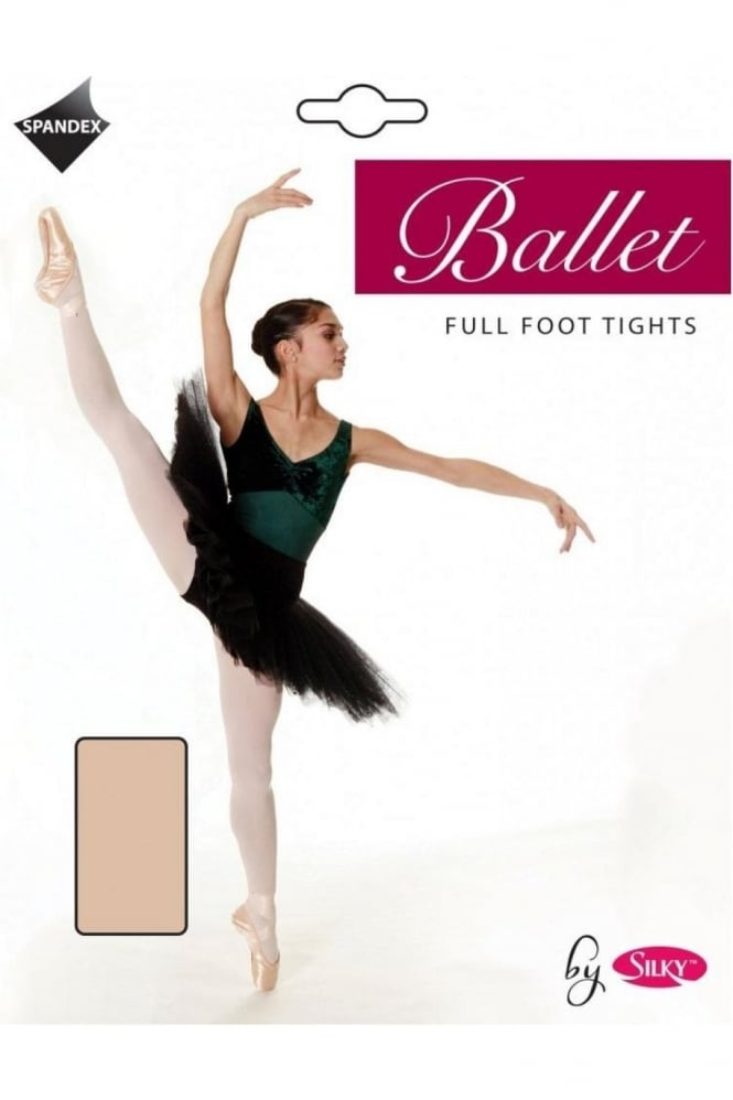Silky Ballet Full Foot Tights - Girls Sizes