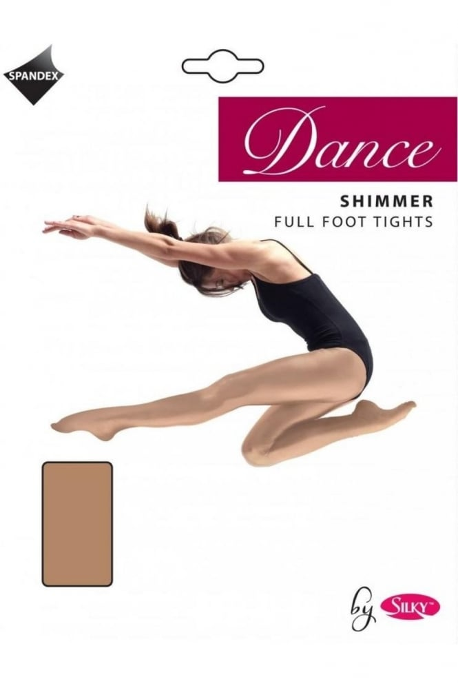 Silky Dance Tights Full Foot Shimmer - Adult Sizes