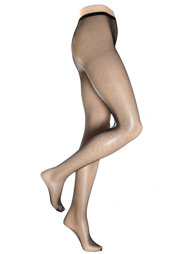 Silky Fishnet Tights XL Size