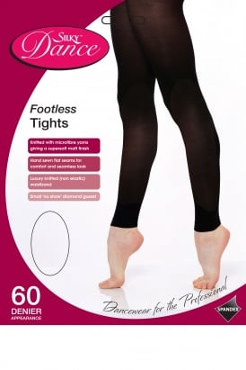 Footless Dance Tights Childrens Sizes
