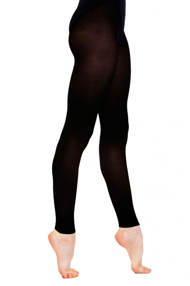 Silky Footless Dance Tights Childrens Sizes