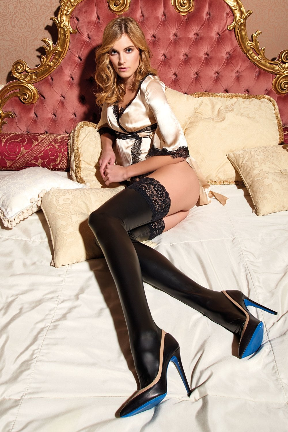 71d0fe44342 Trasparenze Allen Leather Look Hold Ups