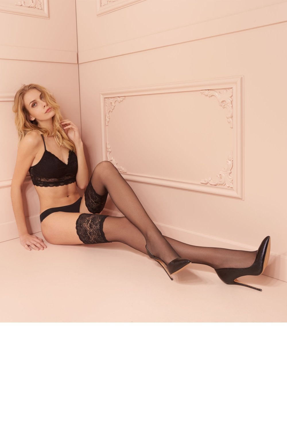 TRASPARENZE Carlotta Hold Up Various Sizes /& Colours Stockings Stay Ups
