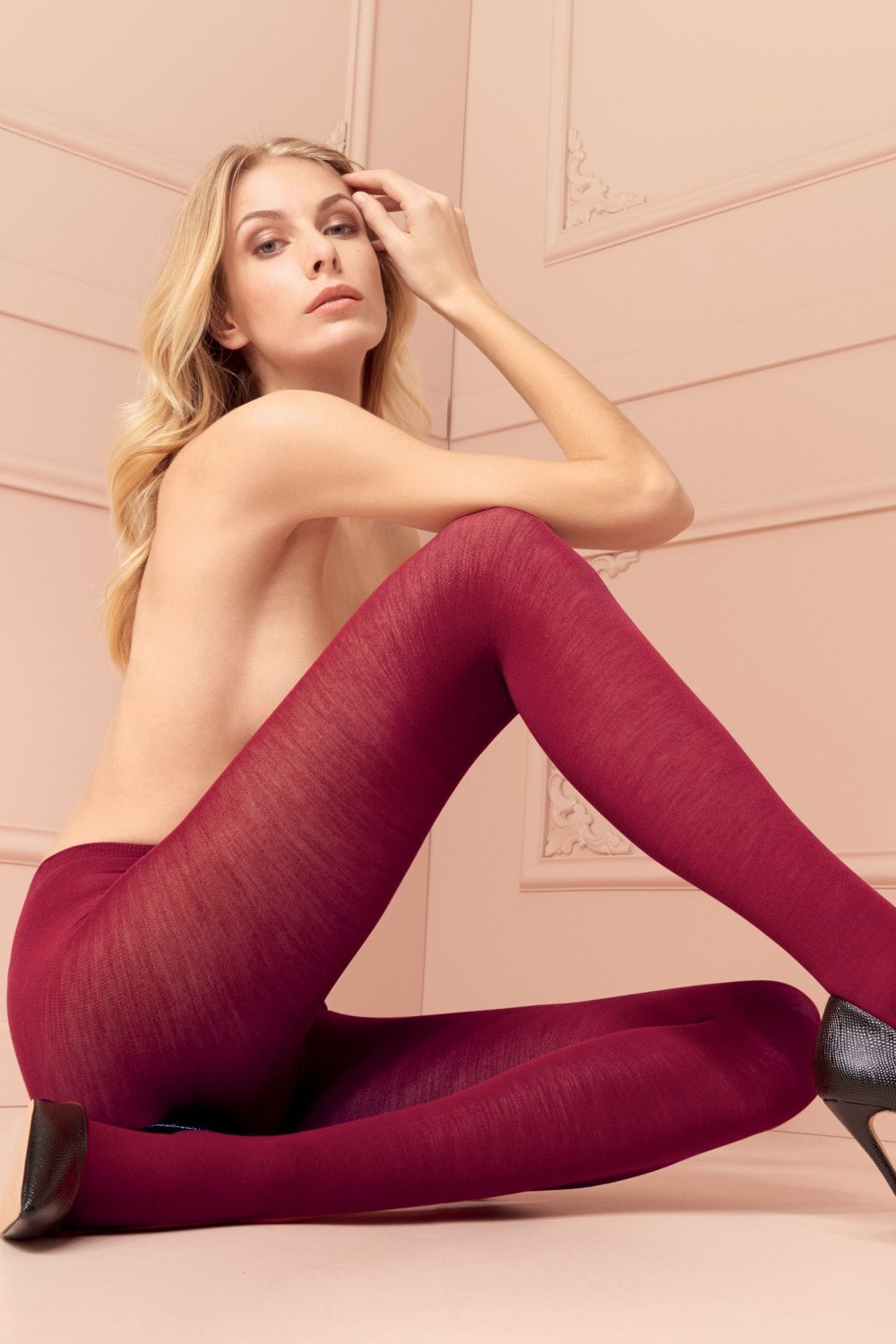 cf5d400e8 Gennifer Merino Wool Tights by Trasparenze