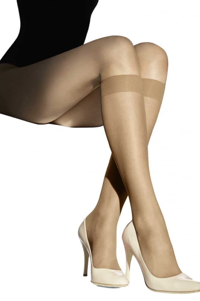 Wolford Luxe 9 Knee High Socks