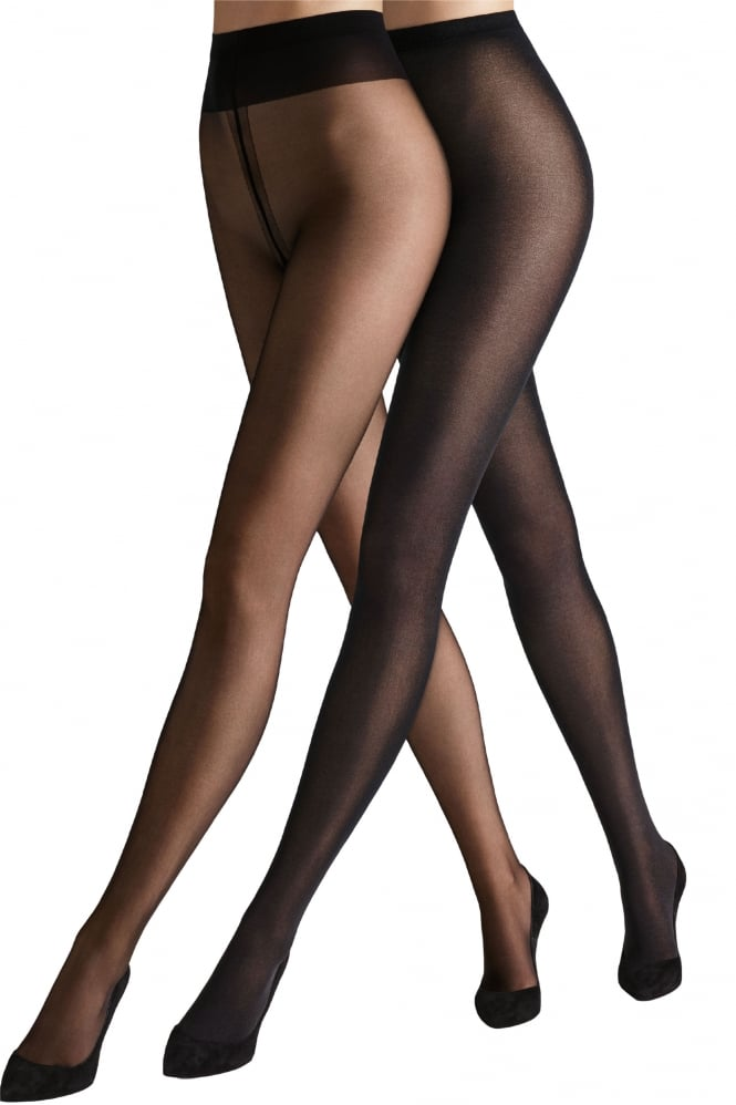 Wolford Must Haves Duo Set - Individual 10 Tights And Velvet De Luxe 50 Tights