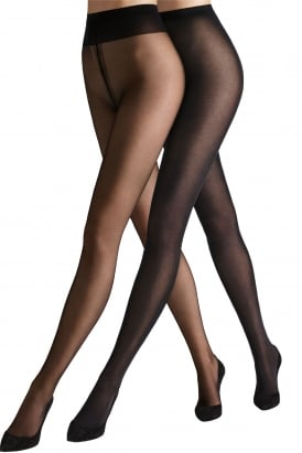 Must Haves Duo Set - Individual 10 Tights And Velvet De Luxe 50 Tights
