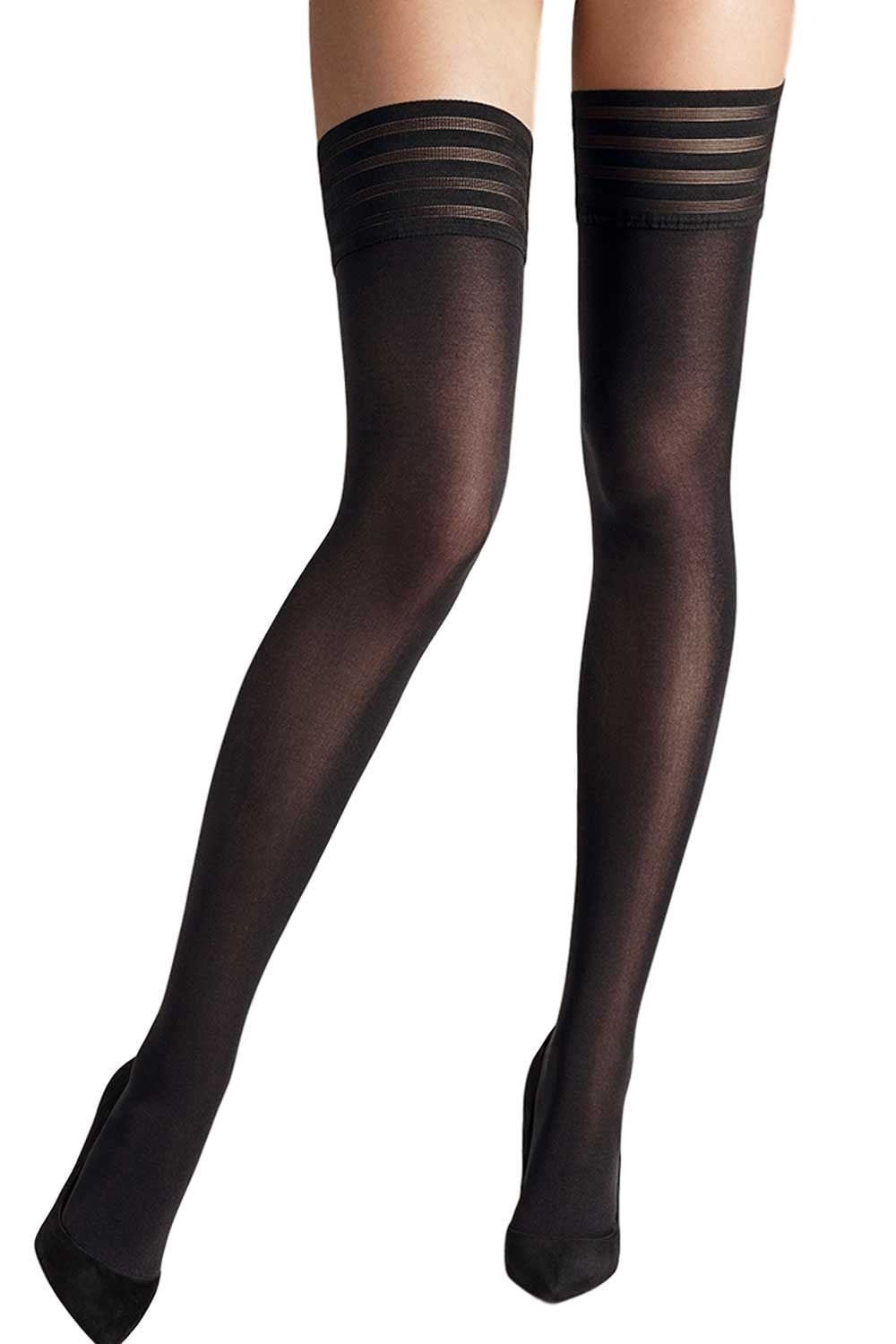 610ab1929 Wolford Velvet De Luxe 50 Stay Up